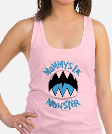 Mommys-Lil-Monster.png Racerback Tank Top