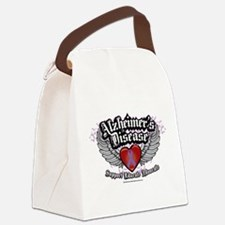 Alzheimers-Wings.png Canvas Lunch Bag