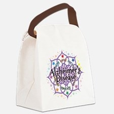 Alzheimers-Lotus.png Canvas Lunch Bag