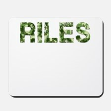 Riles, Vintage Camo, Mousepad