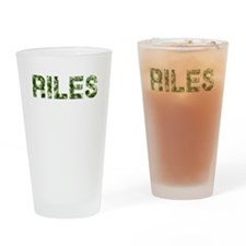 Riles, Vintage Camo, Drinking Glass