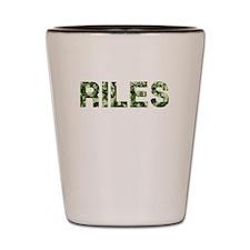Riles, Vintage Camo, Shot Glass