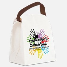 Aspergers-Handprint.png Canvas Lunch Bag