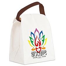 Autism-Lotus-Flower.png Canvas Lunch Bag