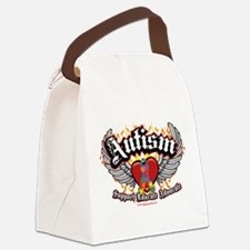 Autism-Wings.png Canvas Lunch Bag