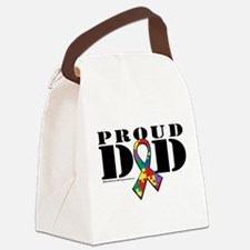 Autism-Proud-Dad.png Canvas Lunch Bag