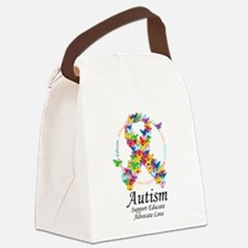 Autism-Butterfly-Ribbon.png Canvas Lunch Bag