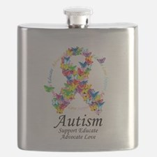 Autism-Butterfly-Ribbon.png Flask