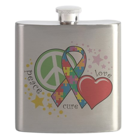 Autism-Peace-Love-Cure.png Flask