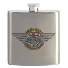 Autism-Medal2008.png Flask