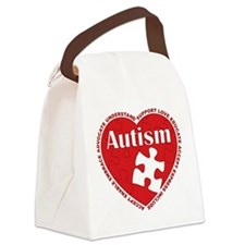Autism-Heart-2-WHITE.png Canvas Lunch Bag
