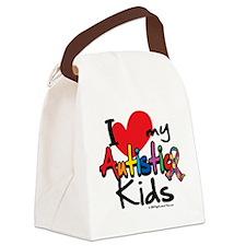 ILove-My-Autistic-Kids.png Canvas Lunch Bag
