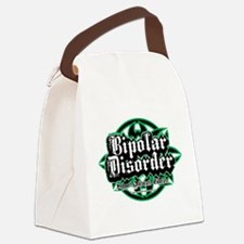 Bipolar-Disorder-Tribal.png Canvas Lunch Bag