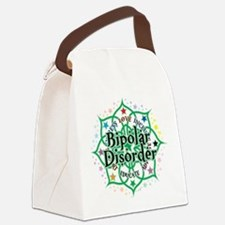 Bipolar-Disorder-Lotus.png Canvas Lunch Bag