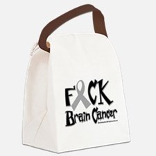 Fuck-Brain-Cancer.png Canvas Lunch Bag