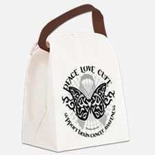Brain-Cancer-Butterfly-Tribal.png Canvas Lunch Bag