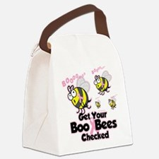 Save-The-Boo-Bees.png Canvas Lunch Bag