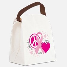 BC-Peace-Love-Cure.png Canvas Lunch Bag
