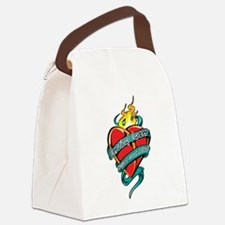 Cervical-Cancer-Tattoo-Heart.png Canvas Lunch Bag