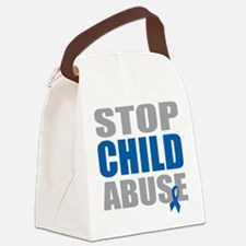Stop-Child-Abuse-4.png Canvas Lunch Bag