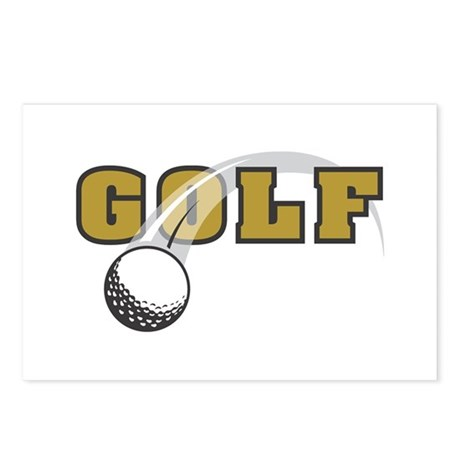 Golf Nuts Postcards (Package of 8)