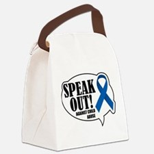 Speak-Out-Against-Child-Abuse.png Canvas Lunch Bag