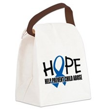 Hope-Child-Abuse.png Canvas Lunch Bag