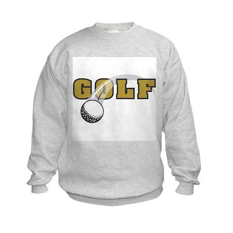 Golf Nuts Kids Sweatshirt