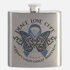 Colon-Cancer-Butterfly-Tribal-2.png Flask