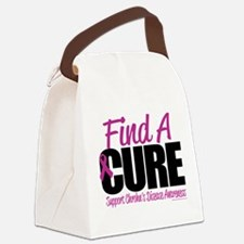 Crohns-Disease-Find-A-Cure.png Canvas Lunch Bag