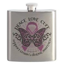 Crohns-Disease-Butterfly-Tribal.png Flask