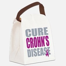 Cure Crohn's Disease Canvas Lunch Bag