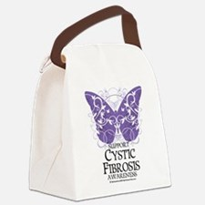Cystic-Fibrosis-Butterfly.png Canvas Lunch Bag