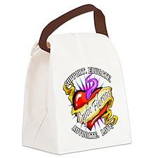 CF-Heart-Tattoo-sticker.png Canvas Lunch Bag