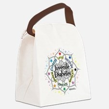 Juvenile-Diabetes-Lotus.png Canvas Lunch Bag