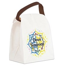 Down-Syndrome-Lotus-2009.png Canvas Lunch Bag