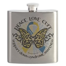 Down-Syndrome-Butterfly-Tribal-2.png Flask