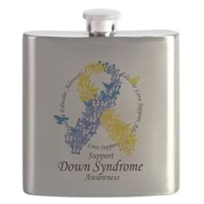 DS Butterfly Ribbon Flask