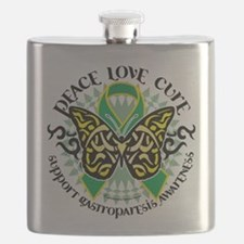 Gastroparesis-Butterfly-Tribal-2.png Flask