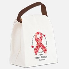 HD-Butterfly-Ribbon.png Canvas Lunch Bag