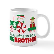 Santa Tractor Big Brother To Be Mug