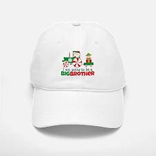 Santa Tractor Big Brother To Be Baseball Baseball Cap