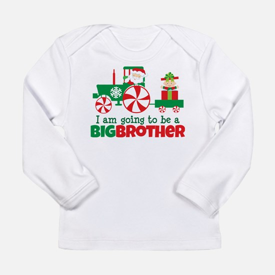 Santa Tractor Big Brother To Be Long Sleeve Infant