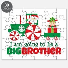 Santa Tractor Big Brother To Be Puzzle