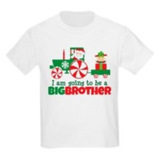 Santa Tractor Big Brother To Be T-Shirt
