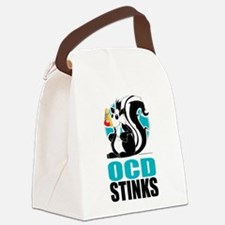OCD-Stinks.png Canvas Lunch Bag
