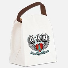 OCD-Wings.png Canvas Lunch Bag