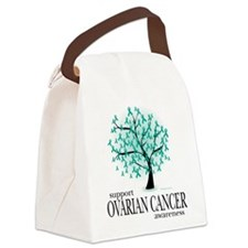 Ovarian-Cancer-Tree.png Canvas Lunch Bag