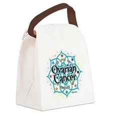 Ovarian-Cancer-Lotus.png Canvas Lunch Bag