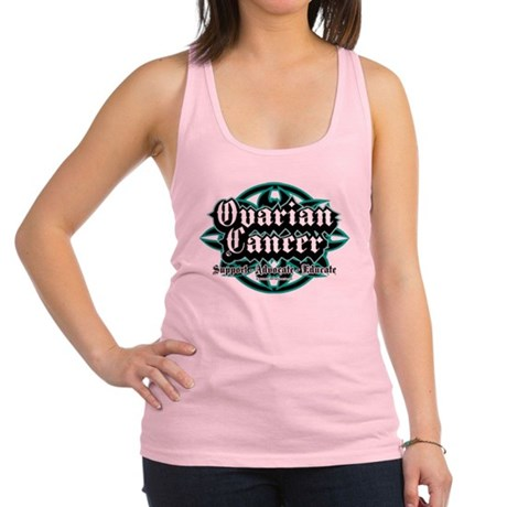 Ovarian-Cancer-Tribal.png Racerback Tank Top